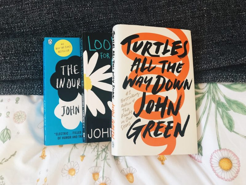 book review, written by charlotte, turtles all the way down, john green, book bloggers